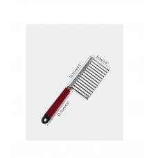 Нож для фигурной нарезки овощей c рукоядкой