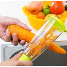 Нож для чистки овощей с контейнером