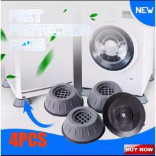 Подставки антивибрационные для стиральной машинки, мебели (комплект из 4 шт)