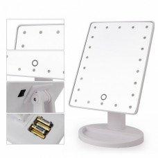 Зеркало настольное для макияжа (с подсветкой 16 лампы)
