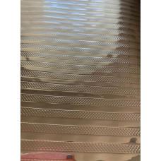 """Фольгированная пленка универсальная рулон 6 метров цвет - """"Серебряная полоса"""""""