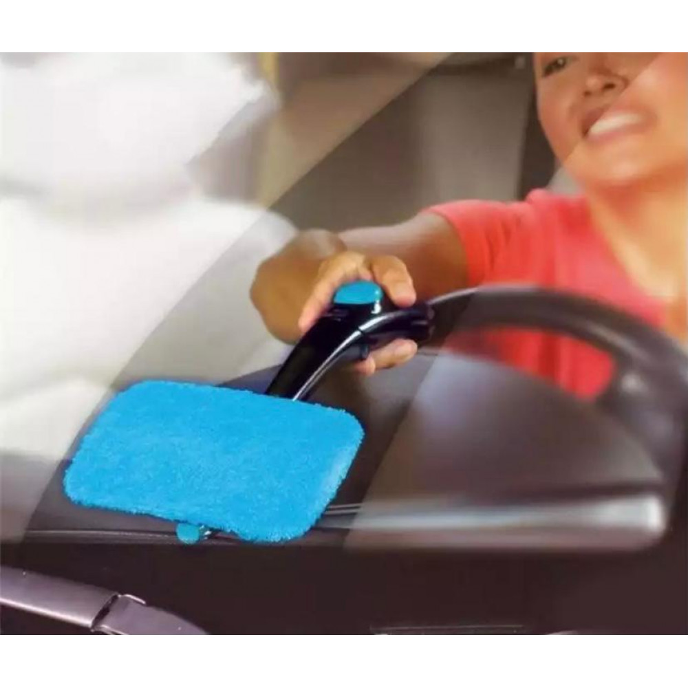 Щетка для мытья стекол авто с распылителем