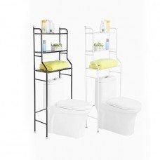 Напольная трехъярусная этажерка для ванной комнаты и туалета