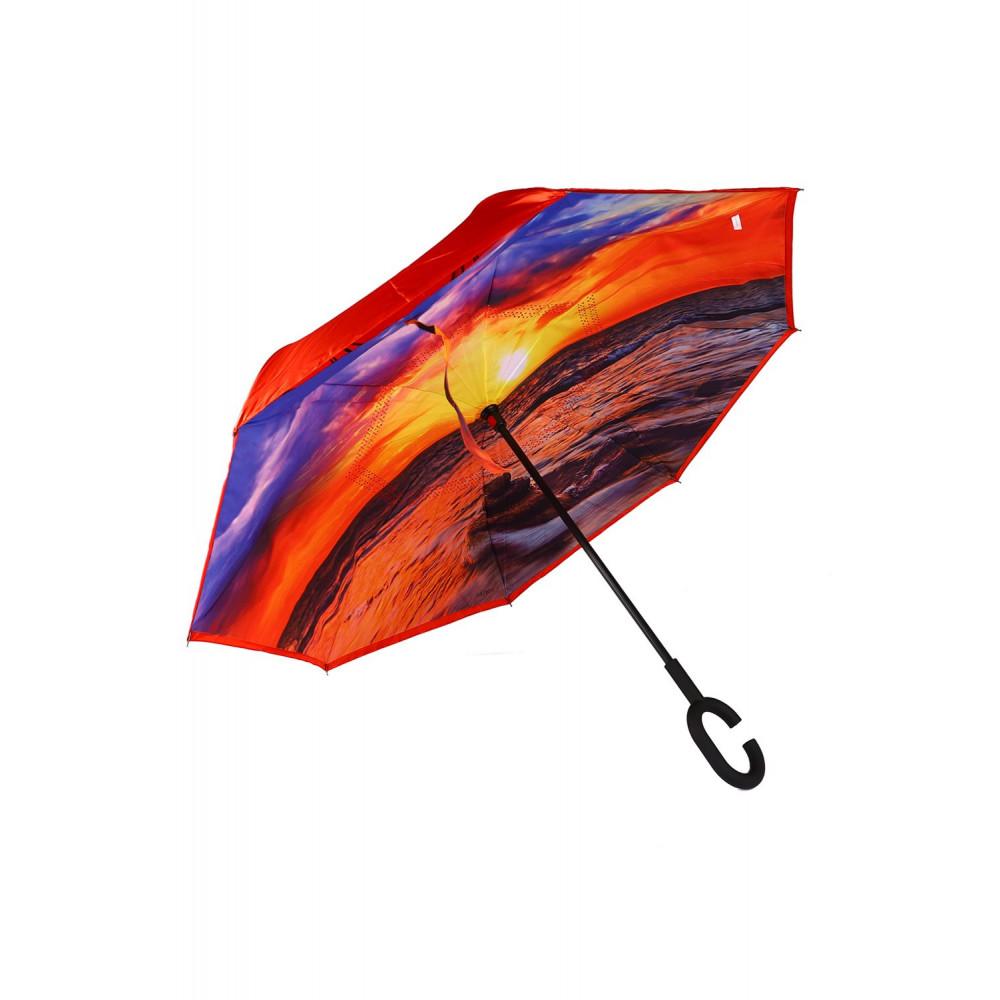 """Зонт """"Ангел"""" с обратным открыванием Dolphin 216"""