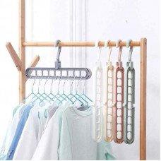 Вешалка многофункциональная для одежды розовый