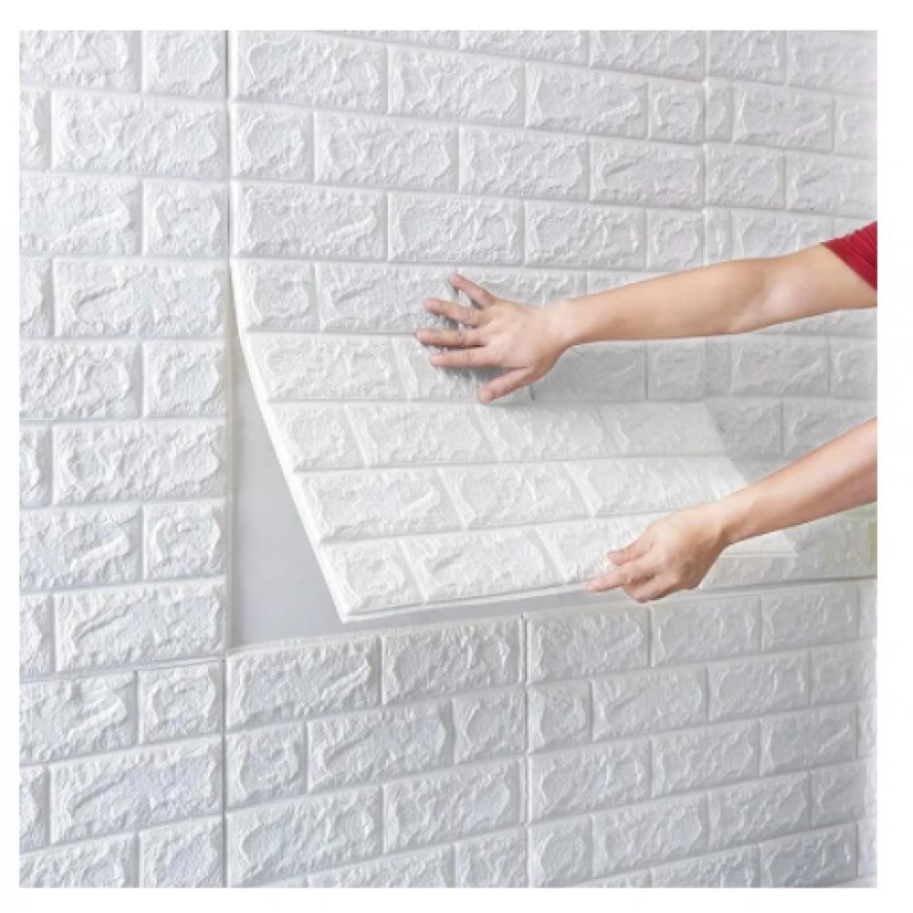 Блок интерьерного покрытия Римский кирпич Зеленый мох (1 шт)