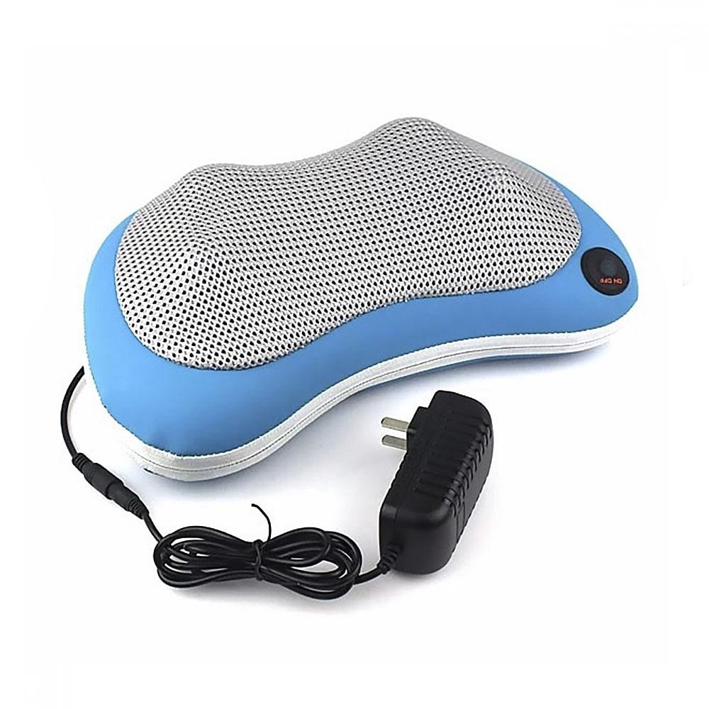 Массажер-подушка (голубая)