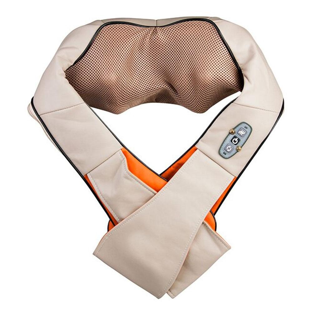 Роликовый массажер для шеи и плеч