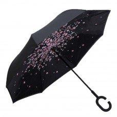 Умный зонт с обратным открыванием Сакура